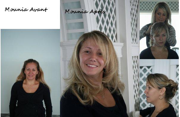 Avant / Après Mounia